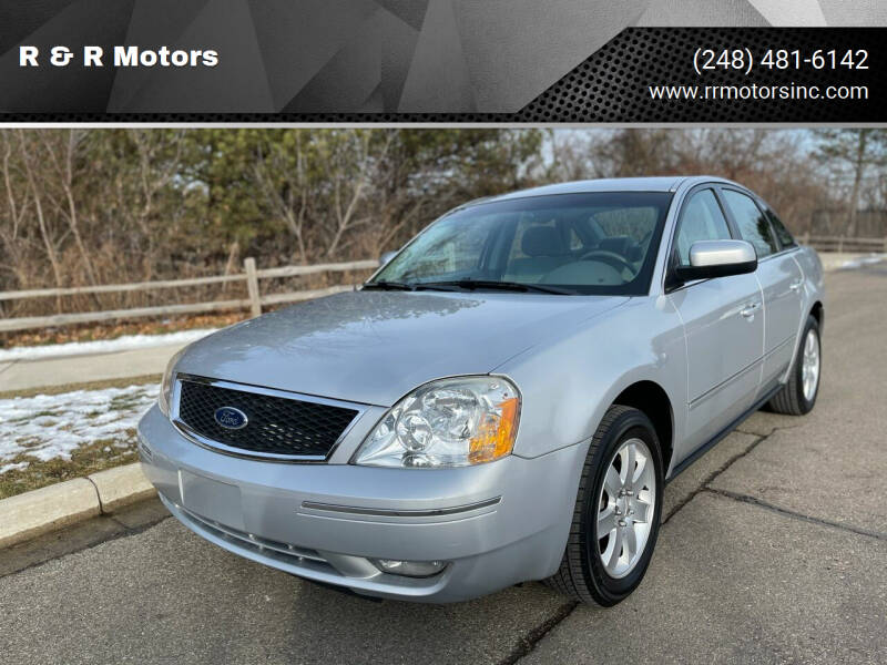 2005 Ford Five Hundred for sale at R & R Motors in Waterford MI