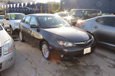 2010 Subaru Impreza for sale at Good Vibes Auto Sales in North Hollywood CA