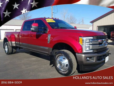 2018 Ford F-350 Super Duty for sale at Holland's Auto Sales in Harrisonville MO