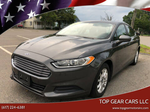 2017 Ford Fusion for sale at Top Gear Cars LLC in Lynn MA