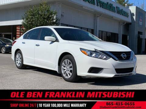 2018 Nissan Altima for sale at Ole Ben Franklin Mitsbishi in Oak Ridge TN