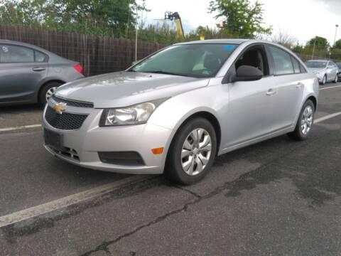2013 Chevrolet Cruze for sale at HW Auto Wholesale in Norfolk VA