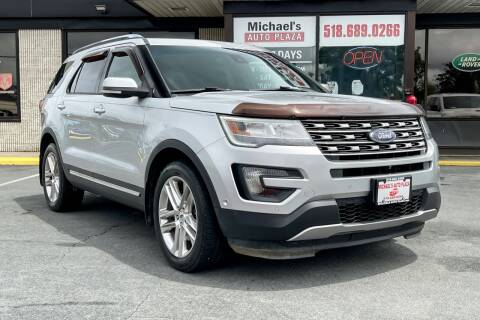 2016 Ford Explorer for sale at Michaels Auto Plaza in East Greenbush NY