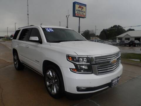 2015 Chevrolet Tahoe for sale at America Auto Inc in South Sioux City NE