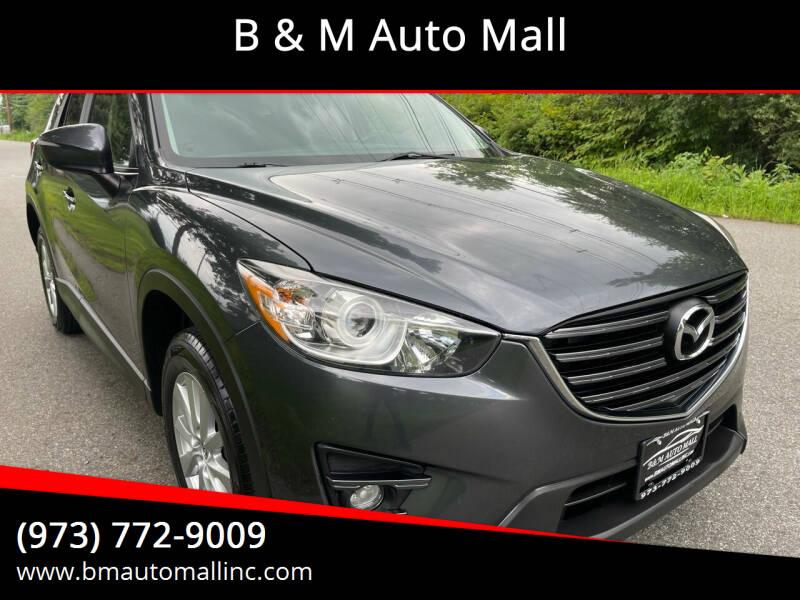 2016 Mazda CX-5 for sale at B & M Auto Mall in Clifton NJ