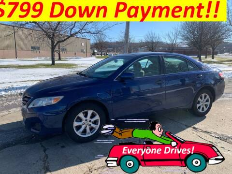 2011 Toyota Camry for sale at World Automotive in Euclid OH