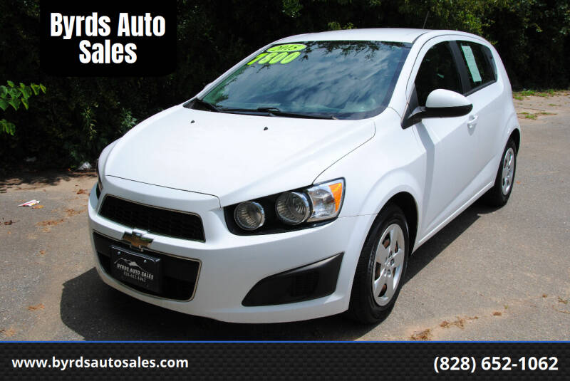 2015 Chevrolet Sonic for sale at Byrds Auto Sales in Marion NC