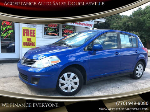 2011 Nissan Versa for sale at Acceptance Auto Sales Douglasville in Douglasville GA