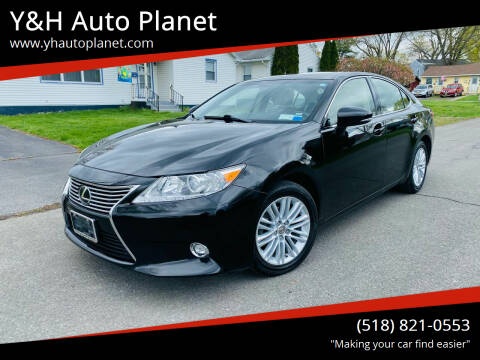 2014 Lexus ES 350 for sale at Y&H Auto Planet in West Sand Lake NY