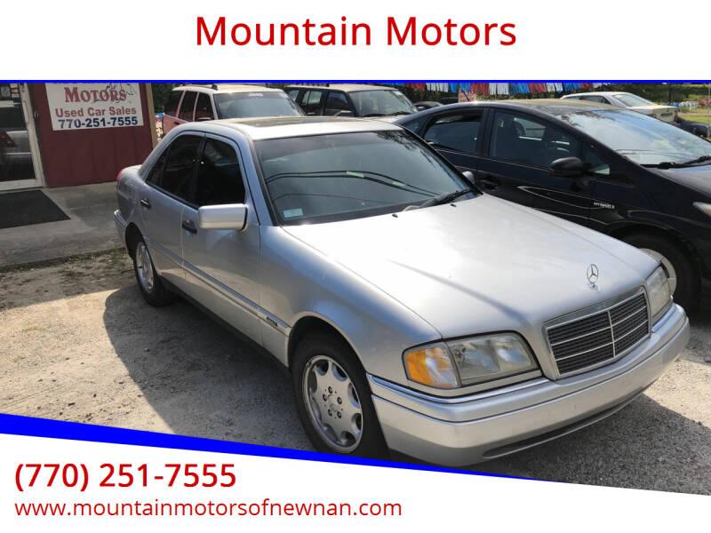 1997 Mercedes-Benz C-Class for sale at Mountain Motors in Newnan GA