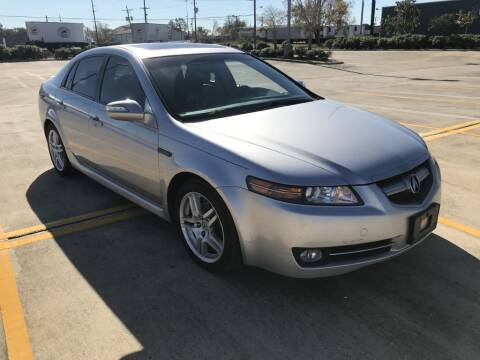 2007 Acura TL for sale at AMERICAN AUTO COMPANY in Beaumont TX