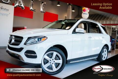 2016 Mercedes-Benz GLE for sale at Quality Auto Center in Springfield NJ