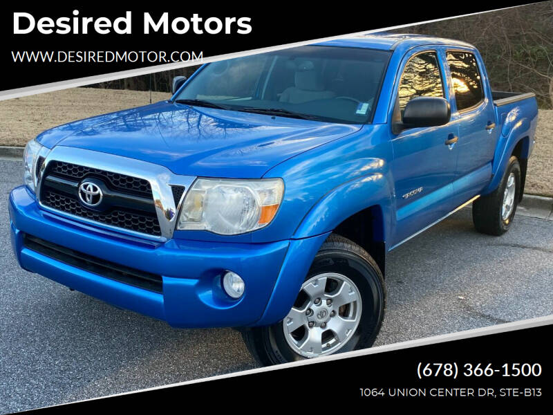 2010 Toyota Tacoma for sale at Desired Motors in Alpharetta GA