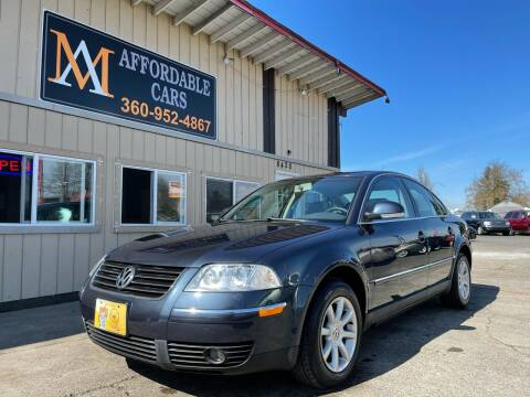 2004 Volkswagen Passat for sale at M & A Affordable Cars in Vancouver WA