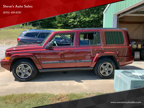 2008 Jeep Commander for sale at Steve's Auto Sales in Harrison AR