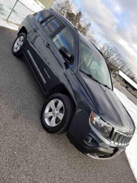 2014 Jeep Compass for sale at GMG AUTO SALES in Scranton PA