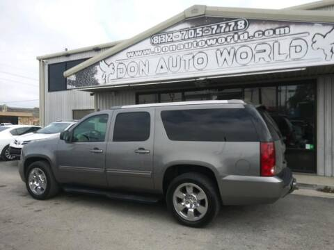 2012 GMC Yukon XL for sale at Don Auto World in Houston TX