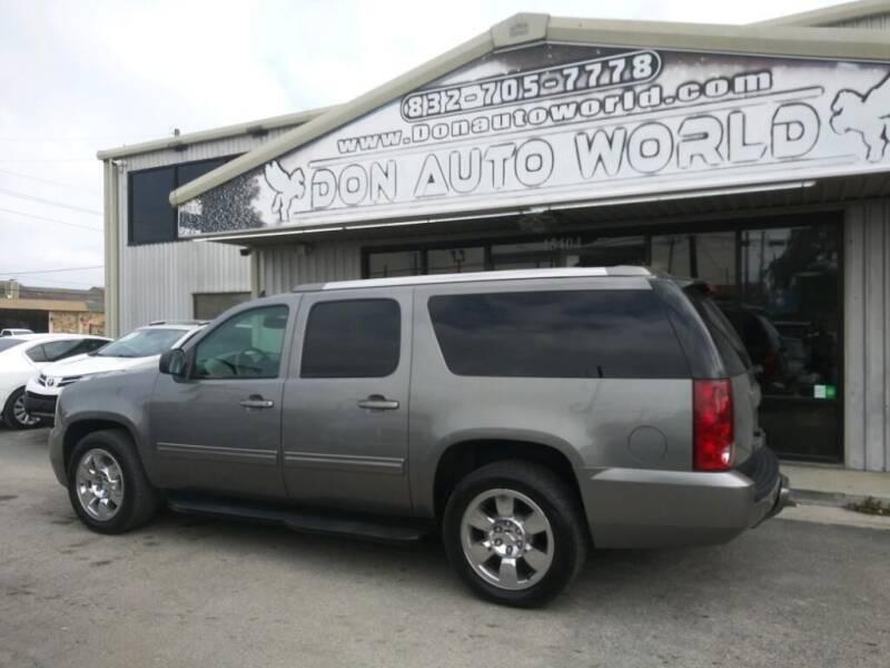 2012 GMC Yukon XL for sale at Don Auto World in Houston TX