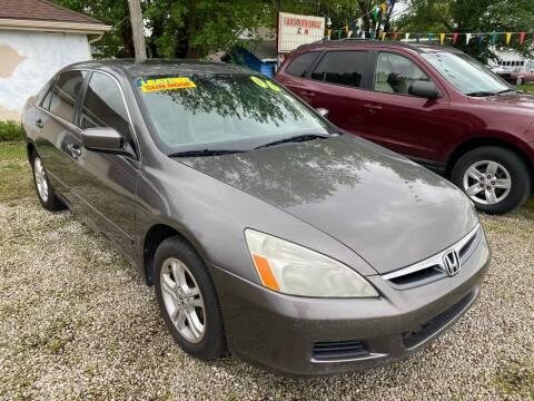 2006 Honda Accord for sale at Car Solutions llc in Augusta KS