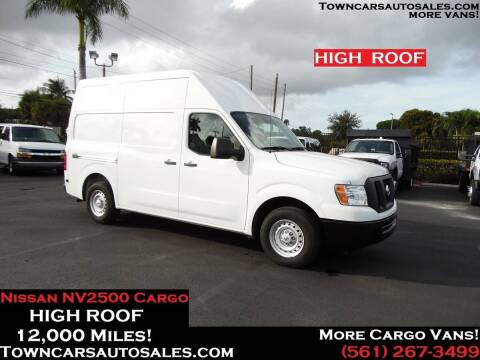 2017 Nissan NV Cargo for sale at Town Cars Auto Sales in West Palm Beach FL