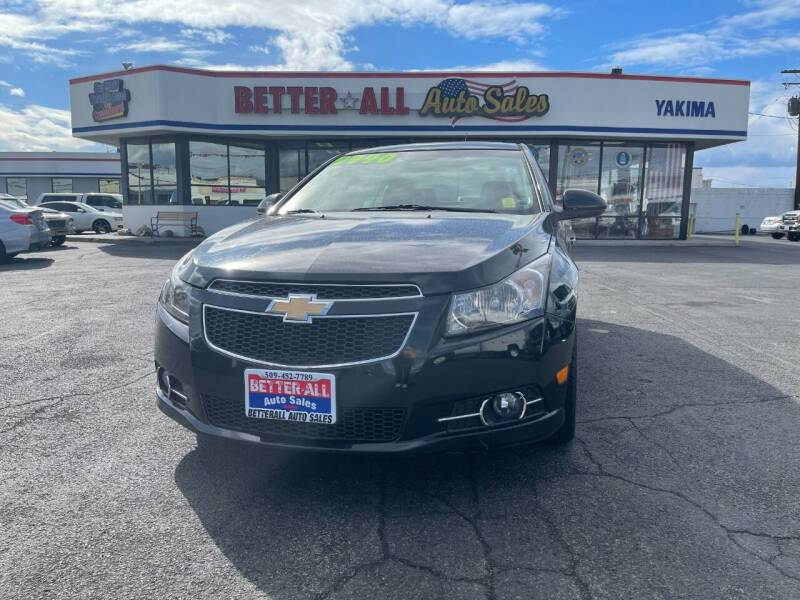 2012 Chevrolet Cruze for sale at Better All Auto Sales in Yakima WA