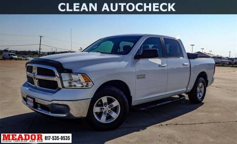 2014 RAM Ram Pickup 1500 for sale at Meador Dodge Chrysler Jeep RAM in Fort Worth TX