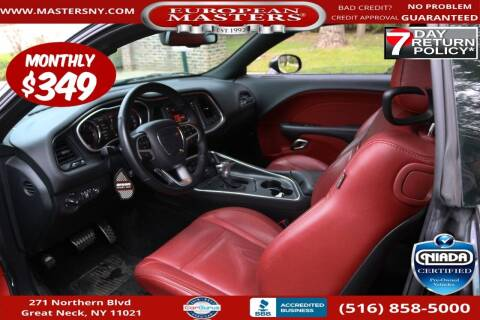 2018 Dodge Challenger for sale at European Masters in Great Neck NY