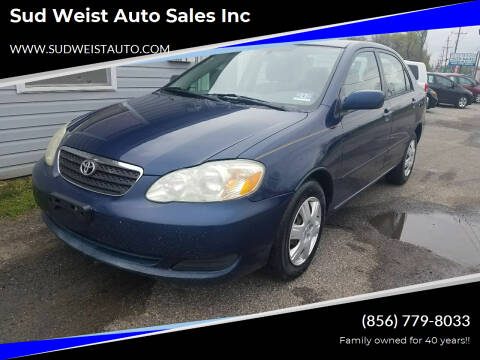 2005 Toyota Corolla for sale at Sud Weist Auto Sales Inc in Maple Shade NJ