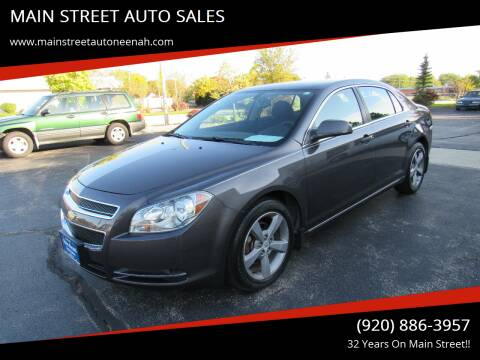 2011 Chevrolet Malibu for sale at MAIN STREET AUTO SALES in Neenah WI