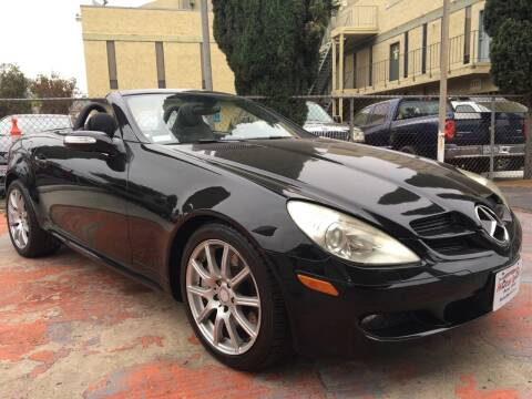 2008 Mercedes-Benz SLK for sale at MotorSport Auto Sales in San Diego CA