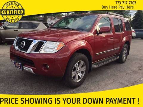 2008 Nissan Pathfinder for sale at AutoBank in Chicago IL
