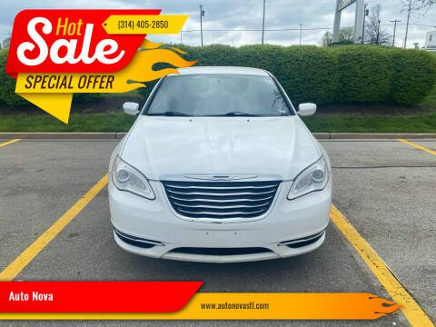 2013 Chrysler 200 for sale at Auto Nova in St Louis MO