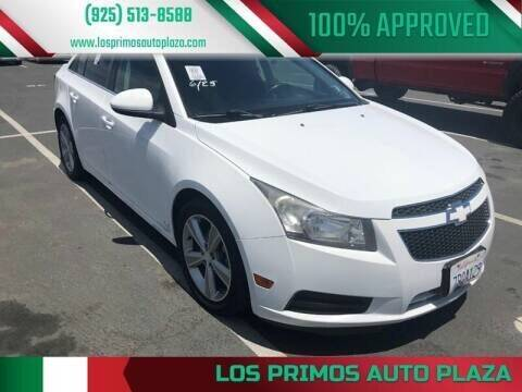 2012 Chevrolet Cruze for sale at Los Primos Auto Plaza in Antioch CA