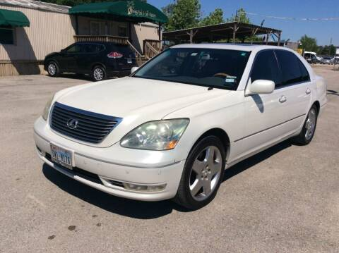 2004 Lexus LS 430 for sale at OASIS PARK & SELL in Spring TX