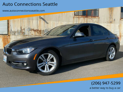2016 BMW 3 Series for sale at Auto Connections Seattle in Seattle WA