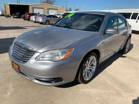 2014 Chrysler 200 for sale at Market Street Auto Sales INC in Houston TX