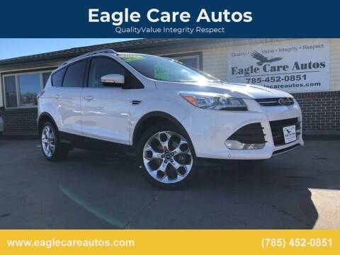 2014 Ford Escape for sale at Eagle Care Autos in Mcpherson KS