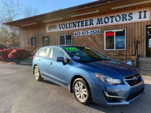 2015 Subaru Impreza for sale at Kerwin's Volunteer Motors in Bristol TN