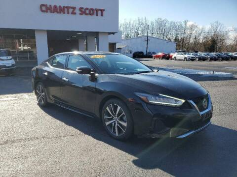 2019 Nissan Maxima for sale at Chantz Scott Kia in Kingsport TN