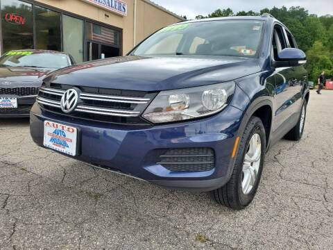 2016 Volkswagen Tiguan for sale at Auto Wholesalers Of Hooksett in Hooksett NH