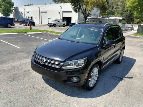 2014 Volkswagen Tiguan for sale at Best Price Car Dealer in Hallandale Beach FL