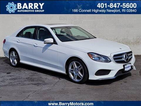 2014 Mercedes-Benz E-Class for sale at BARRYS Auto Group Inc in Newport RI