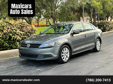 2014 Volkswagen Jetta for sale at Maxicars Auto Sales in West Park FL