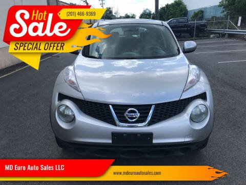 2011 Nissan JUKE for sale at MD Euro Auto Sales LLC in Hasbrouck Heights NJ
