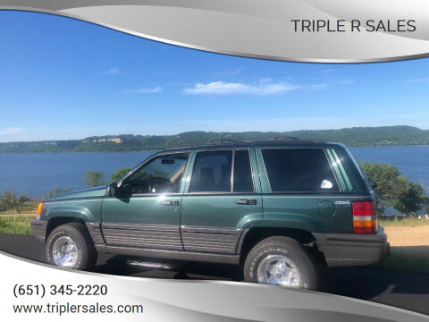 1995 Jeep Grand Cherokee for sale at Triple R Sales in Lake City MN