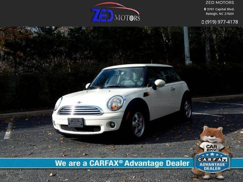 2007 MINI Cooper for sale at Zed Motors in Raleigh NC