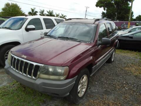 2002 Jeep Grand Cherokee for sale at Bargain Auto Mart Inc. in Kenneth City FL