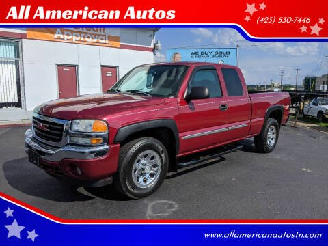 2006 GMC Sierra 1500 for sale at All American Autos in Kingsport TN