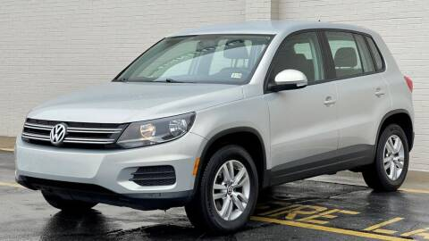 2014 Volkswagen Tiguan for sale at Carland Auto Sales INC. in Portsmouth VA