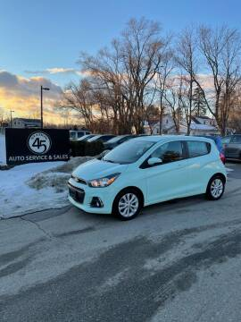 2017 Chevrolet Spark for sale at Station 45 Auto Sales Inc in Allendale MI